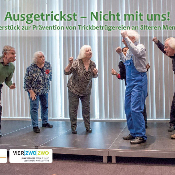 Theaterstück Senioren Kriminalprävention